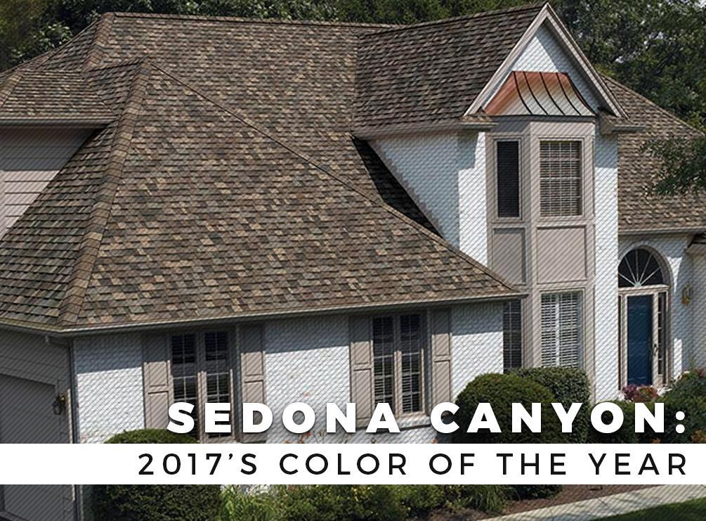Sedona Canyon 2017 S Color Of The Year Top Roofing