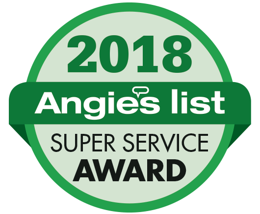 Image result for angie's list super service award 2018 logo
